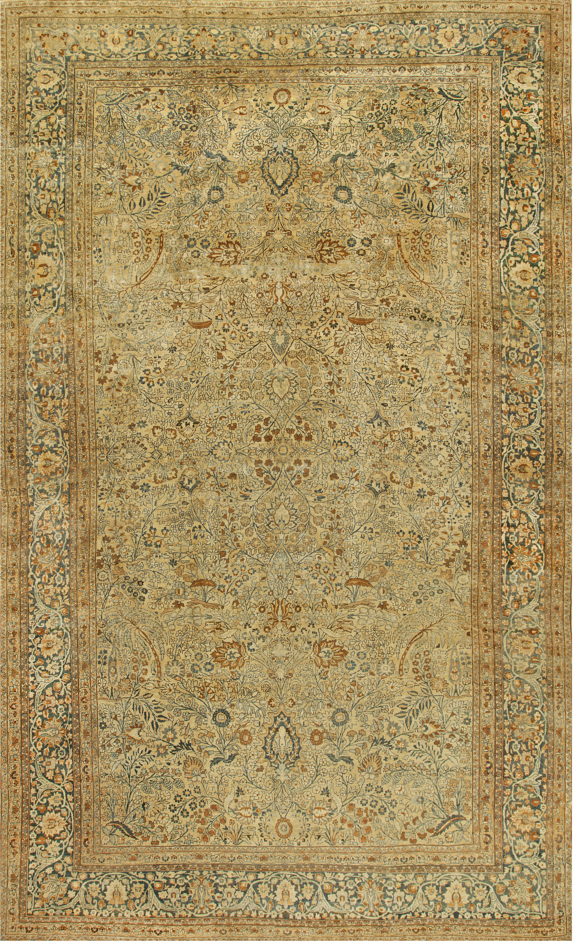 Antique Persian Khorassan Carpet BB6726