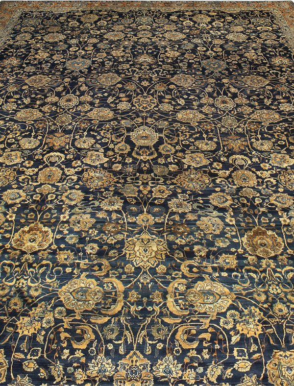 Übergroße Vintage Perser Tabriz Teppich BB6688
