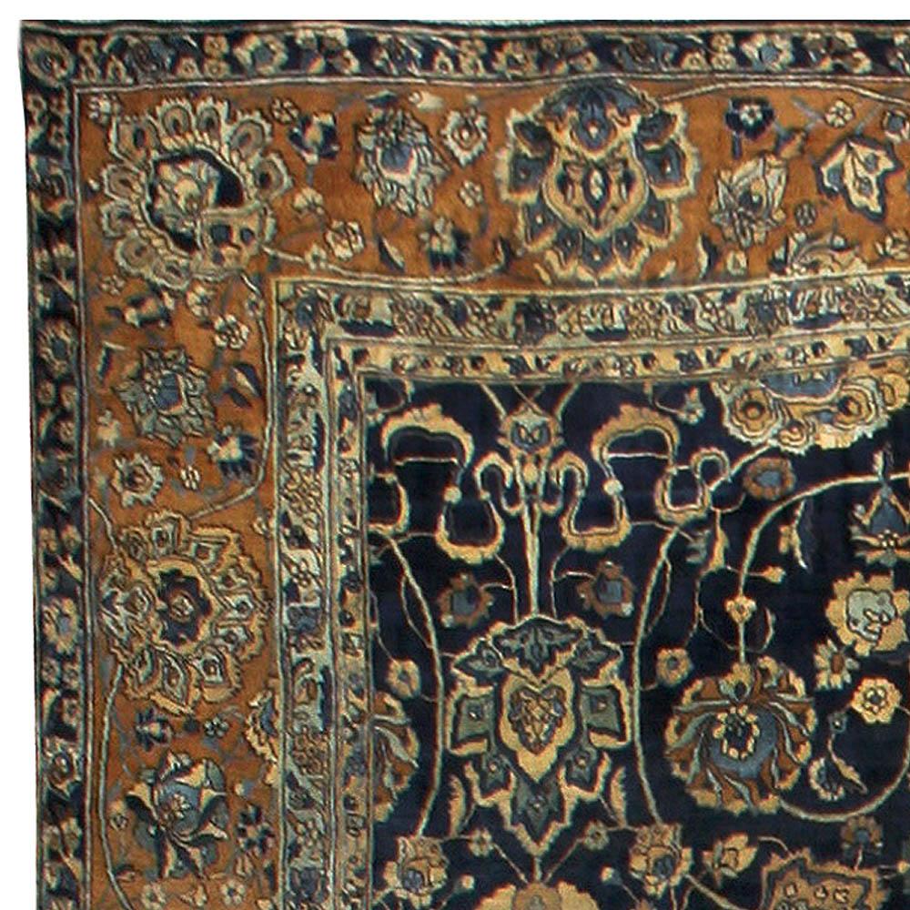 Oversized Vintage Persian Kirman Rug BB6688