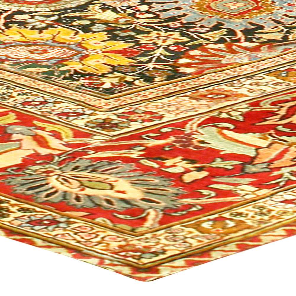 Antique Persian Tabriz Rug (Size Adjusted) BB6777