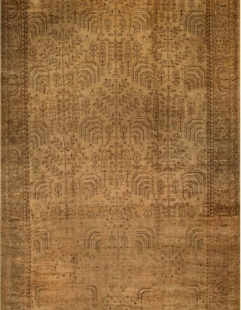 Oversized Vintage Turkish Oushak Rug BB6704