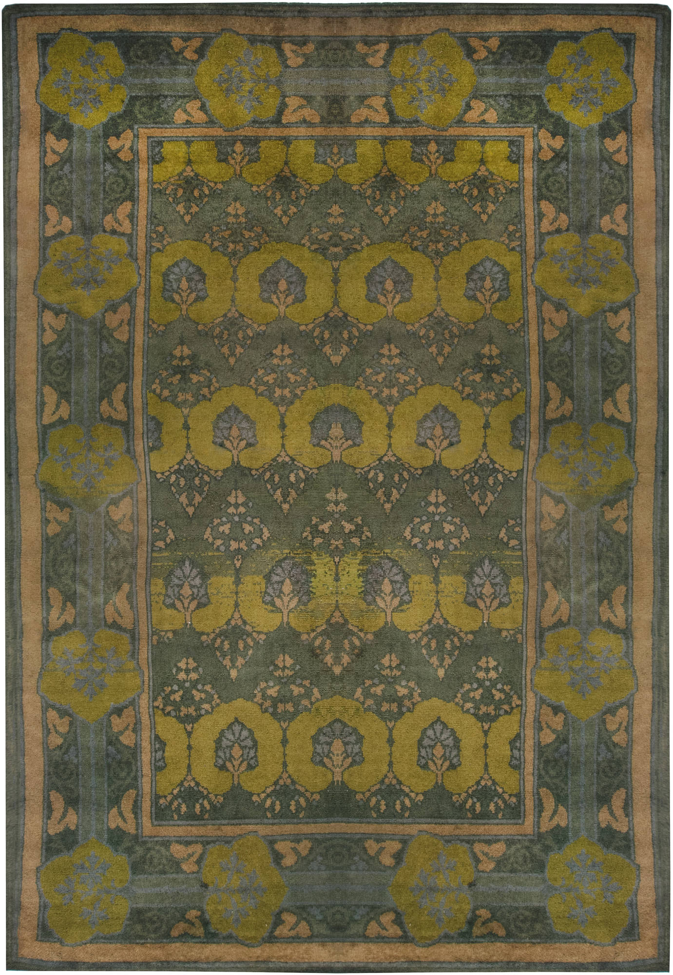 "Donegal Carpet by  C.F.A Voysey ""Glenmure"" BB6584"