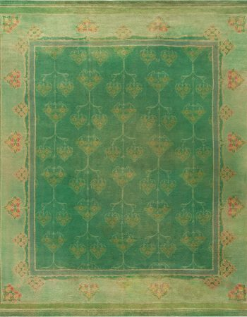 Donegal Irish Vintage Rug BB6798