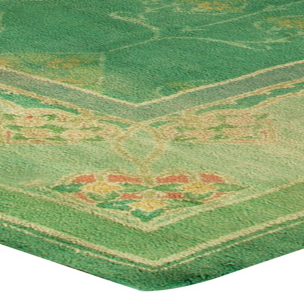 Vintage Irish Donegal Rug BB6798