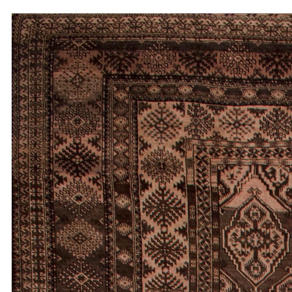 Oversized Vintage Afghan Bashir Rug BB6749