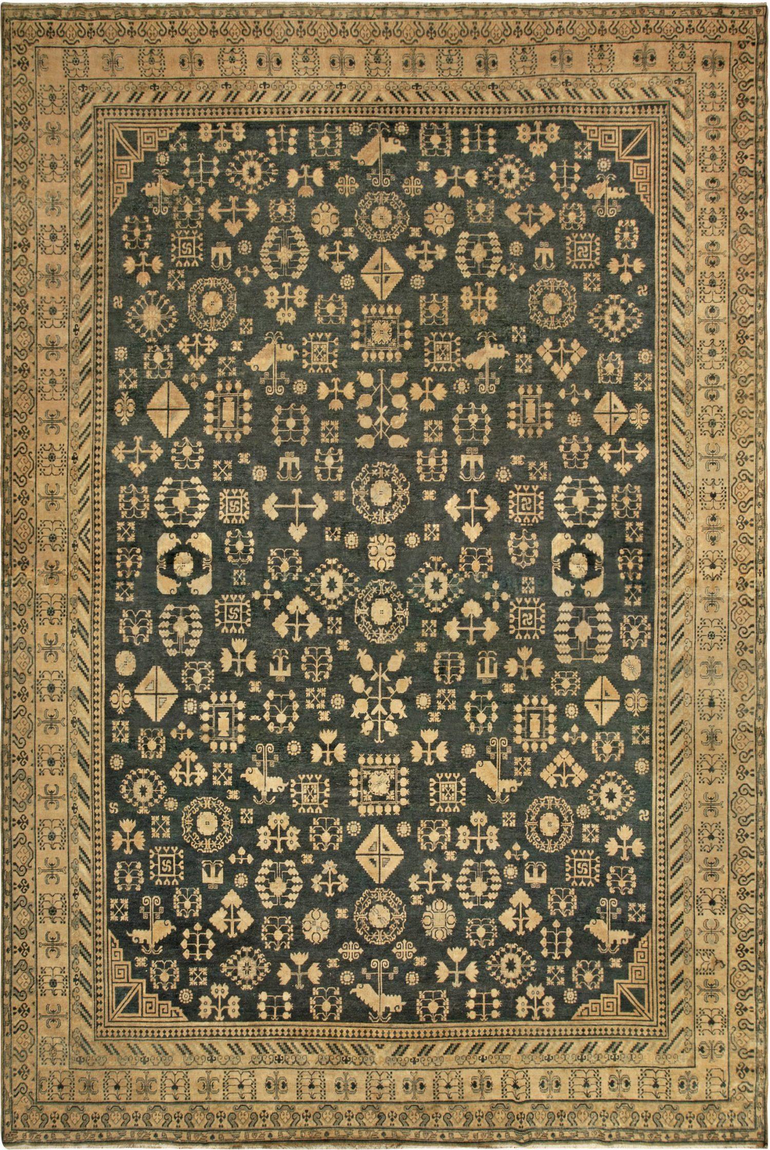Vintage Samarkand (Khotan) Rug BB6778