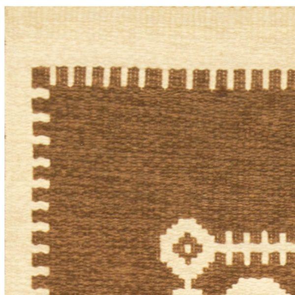 Vintage Swedish Rug BB6787