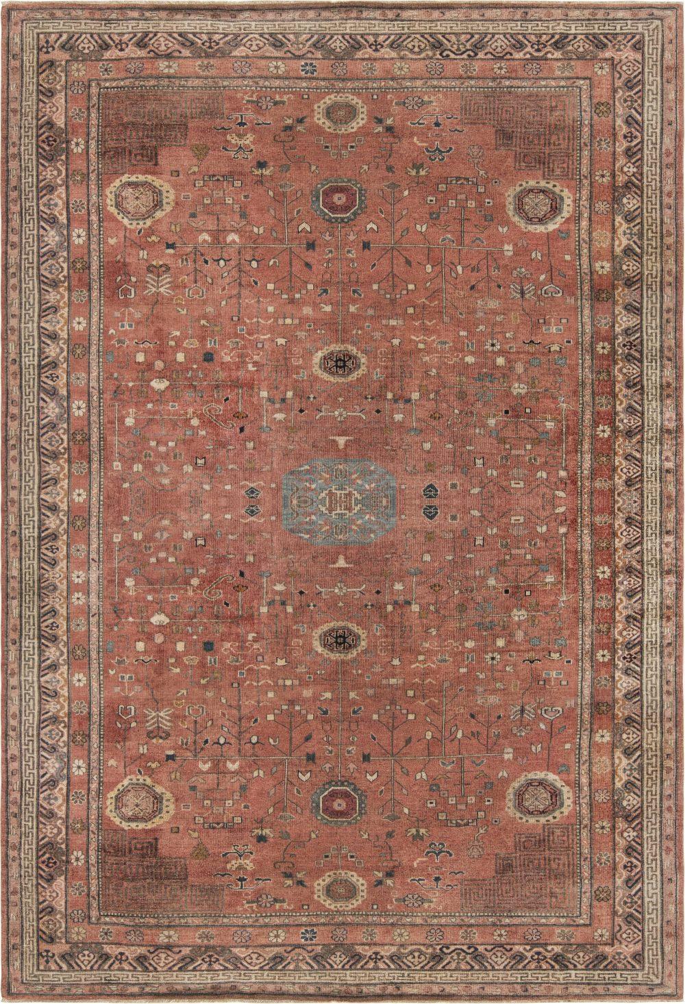 Vintage Samarkand Rug BB6859