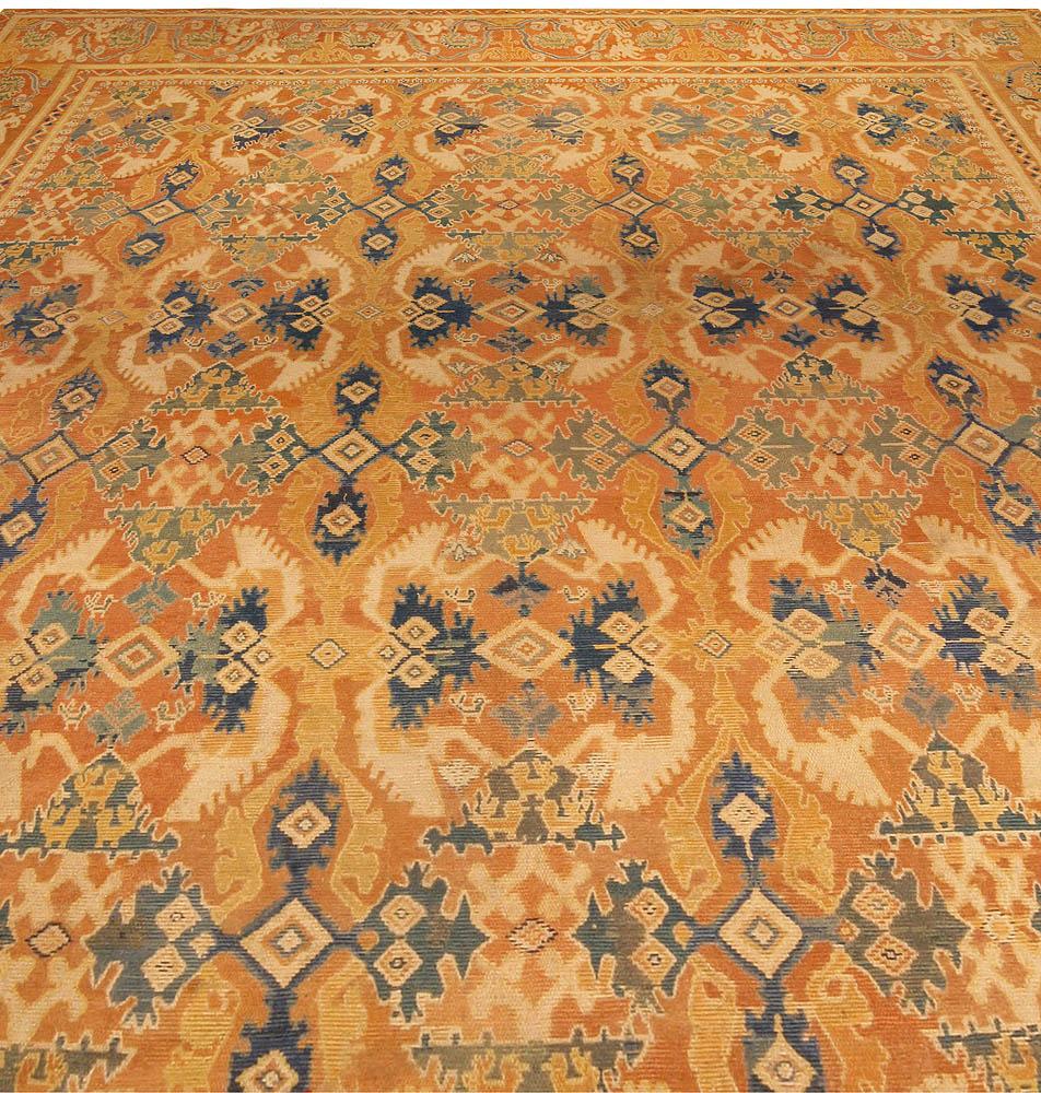 Antique Spanish Quenca Rug BB6751