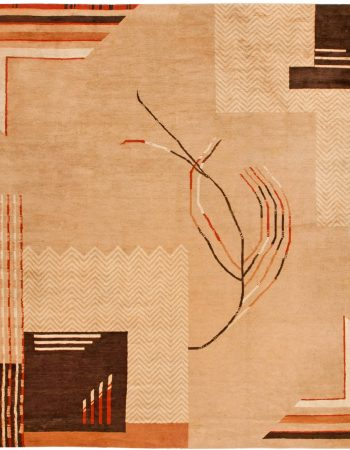 Vintage Art Deco Rug BB6753