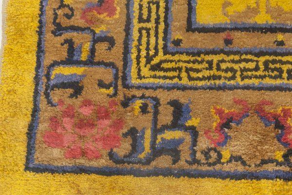 Alfombra china de seda antigua BB6903