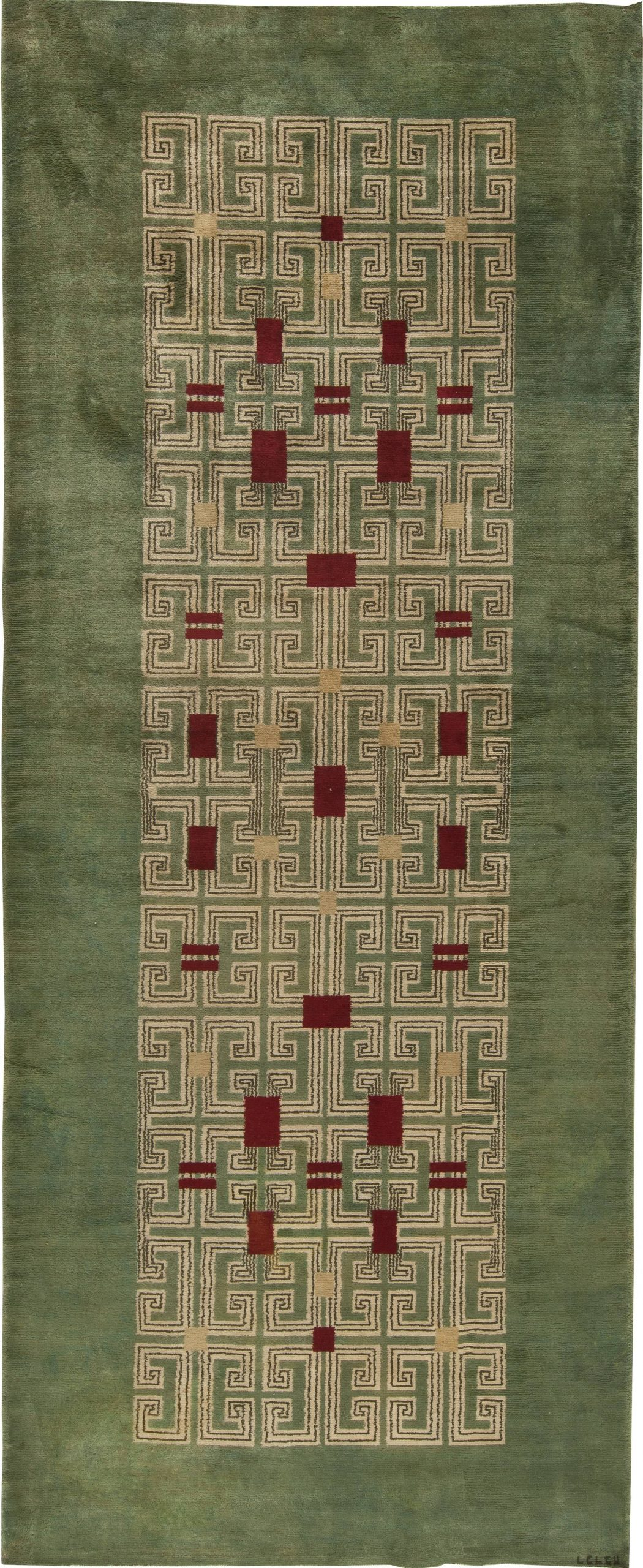 Vintage French Deco Rug by Paule Leleu BB5430
