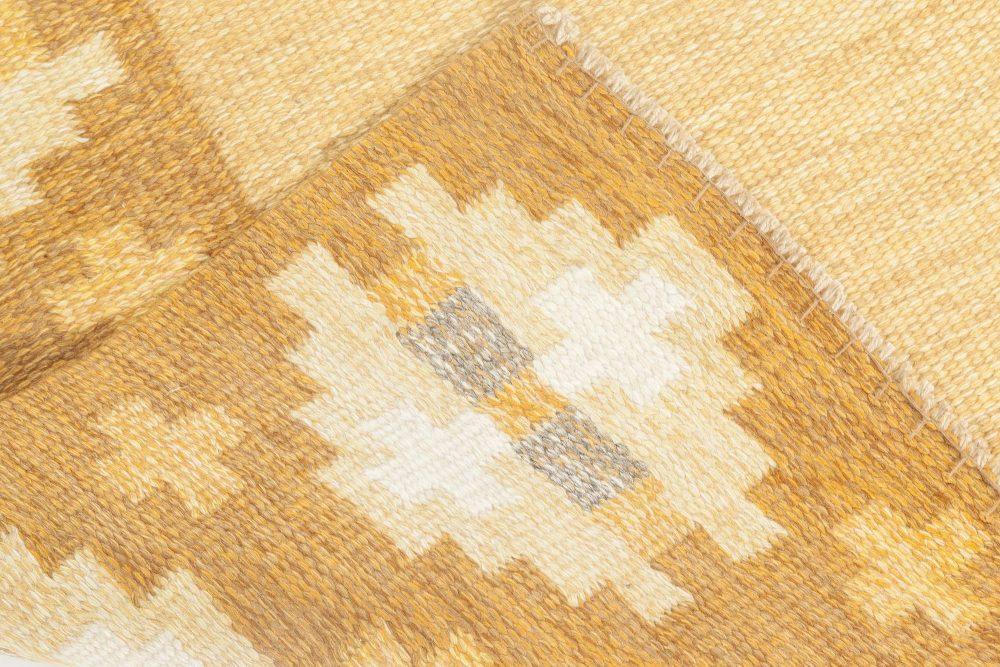 Midcentury Swedish Flat-Weave Rug by Birgitta Solderkvist BB6884