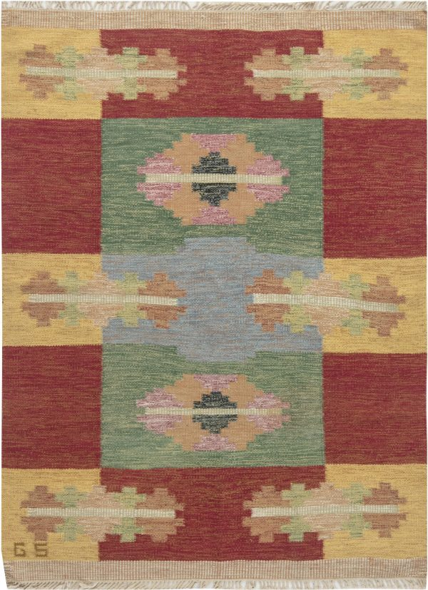 SWEDISH FLAT WEAVE RUNNER DE SVERKER GREUHOLM BB6658