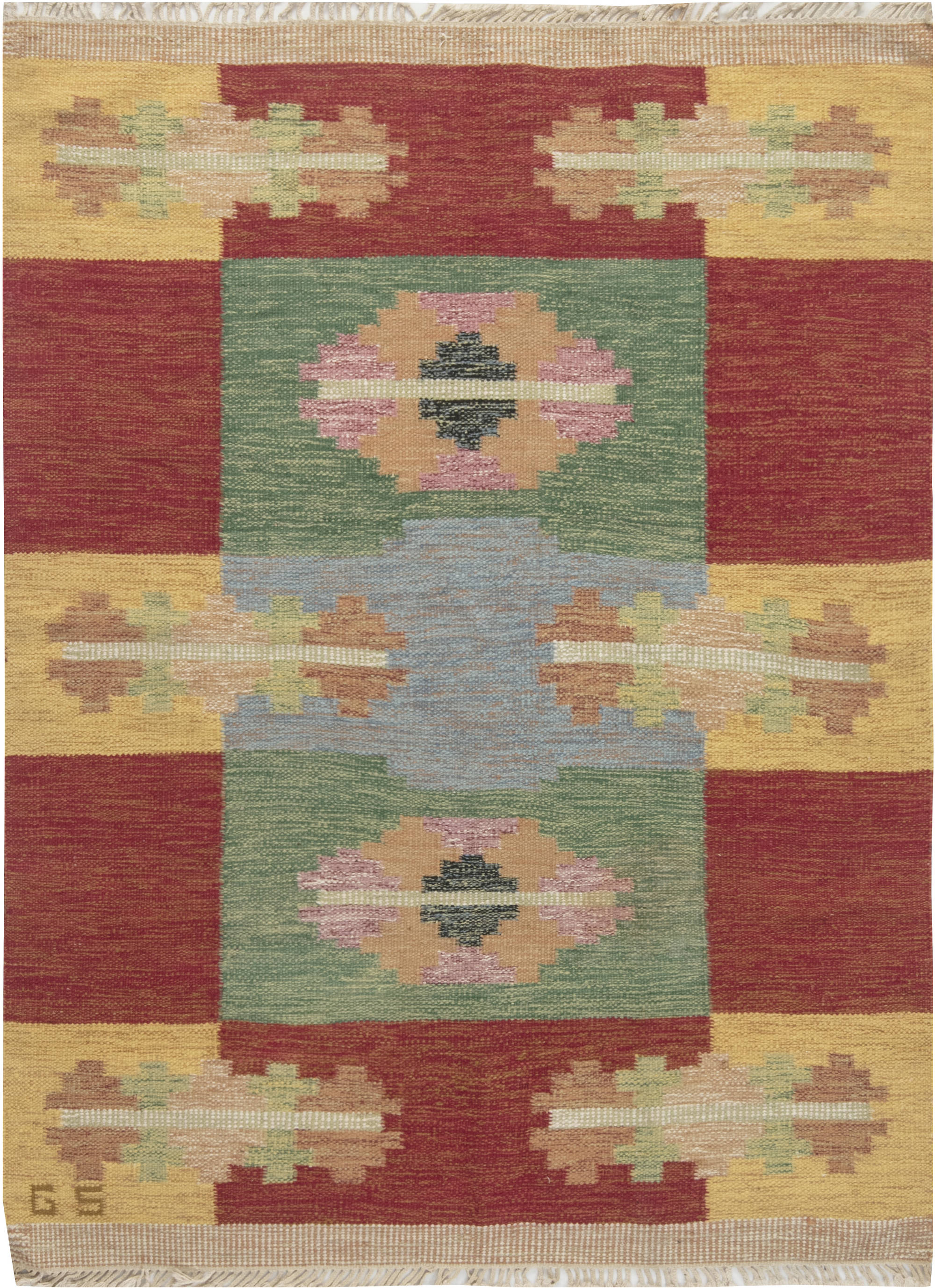SWEDISH FLAT WEAVE RUNNER BY SVERKER GREUHOLM BB6658