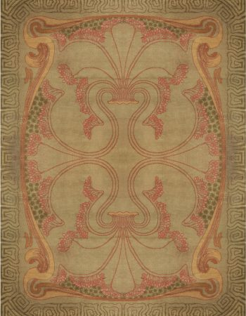 Art vienense Vintage Nouveau BB6644 Carpet