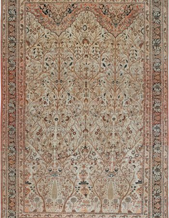 Antique Persian Tabriz rug BB6917