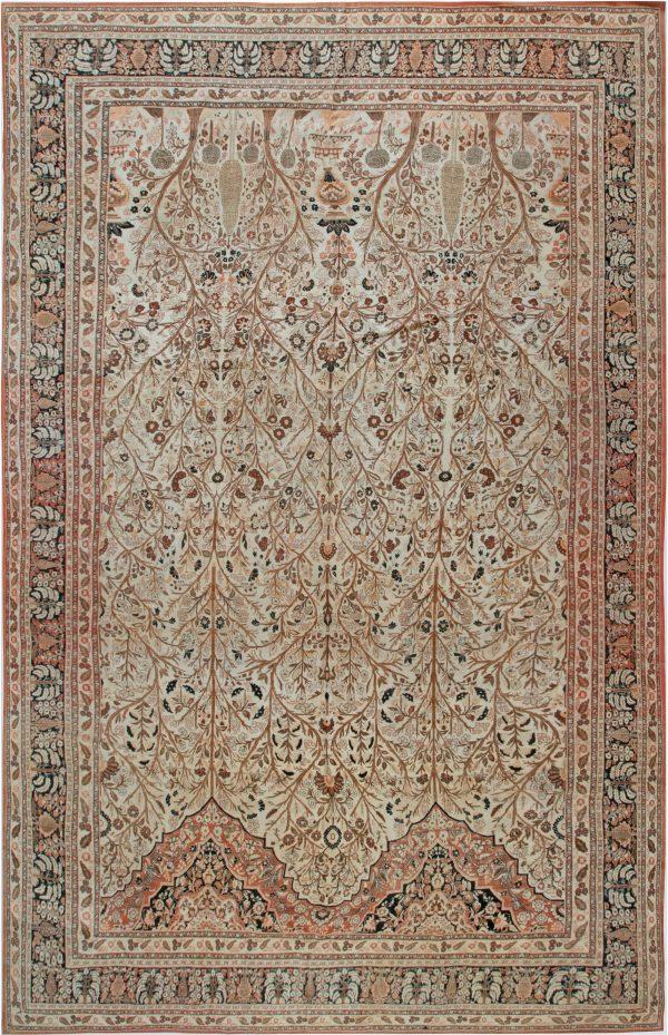 Antique Persian Tabriz rug BB6917