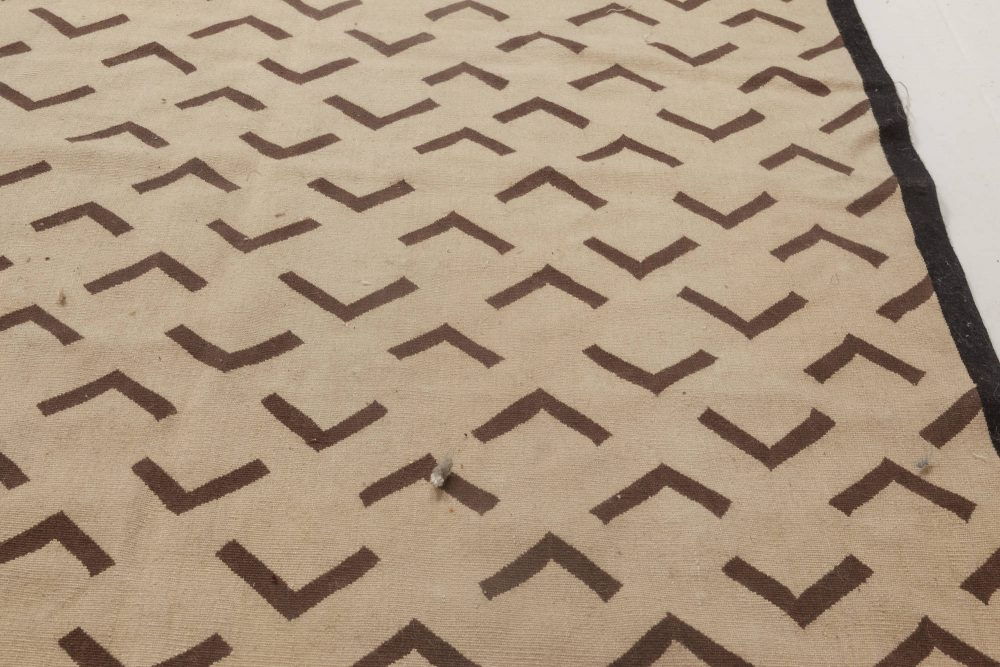 Aubusson Geometric  Rug by Parkin Saunders N11887