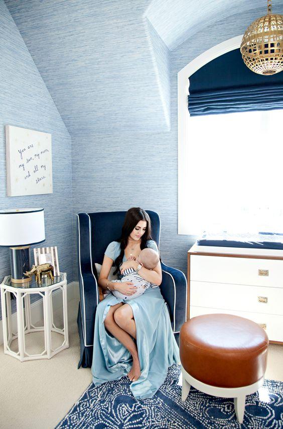 blue interior decor, blueprint color (1)