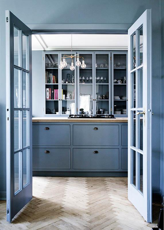 blue interior decor, blueprint color (10)