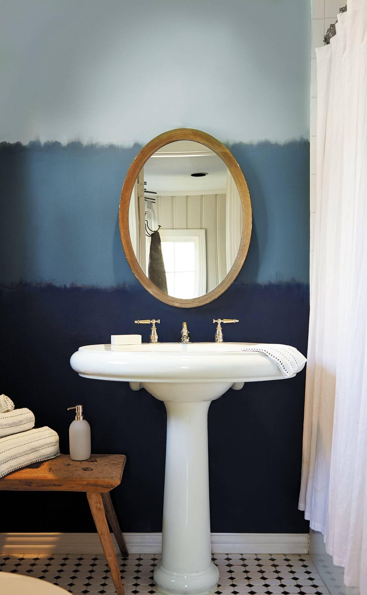 blue interior decor, blueprint color (2)
