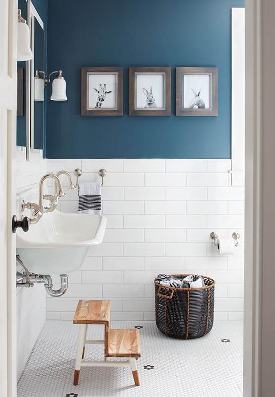 blue interior decor, blueprint color (7)