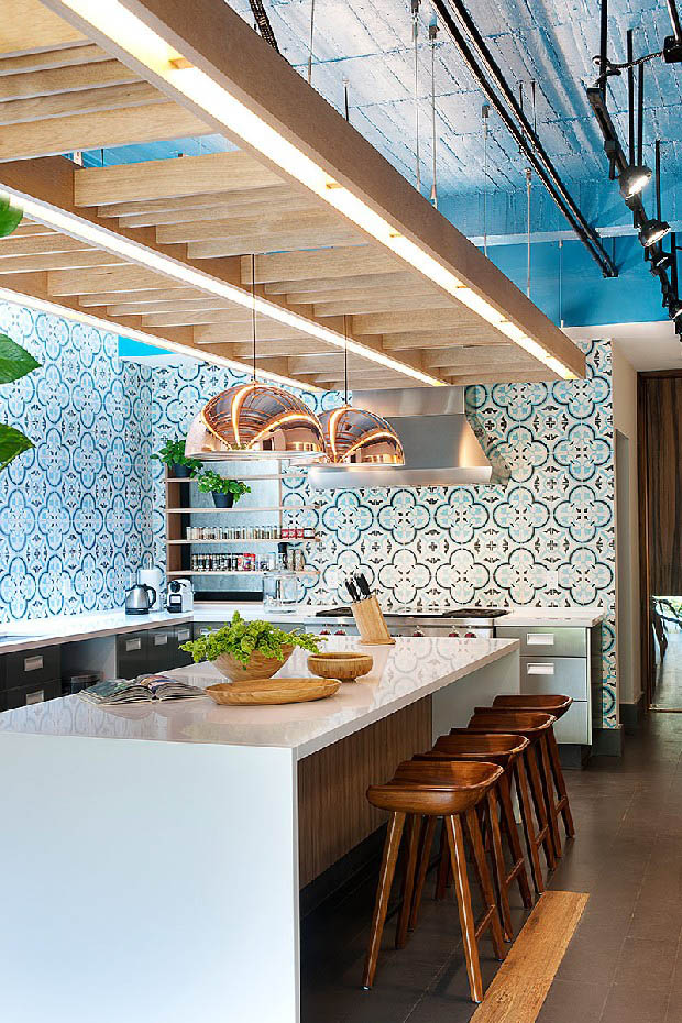 blue interior decor, blueprint color (9)