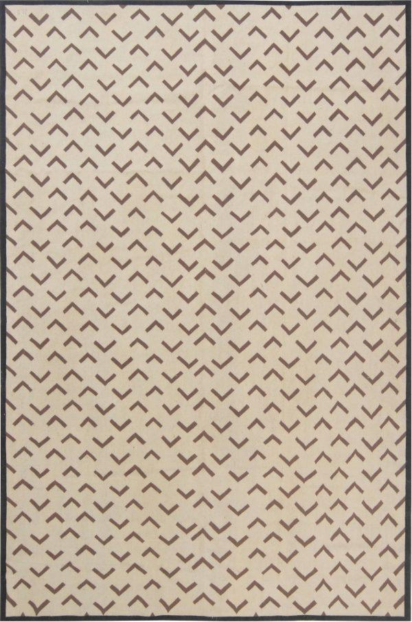 Tapete geométrico Aubusson por Parkin Saunders N11887