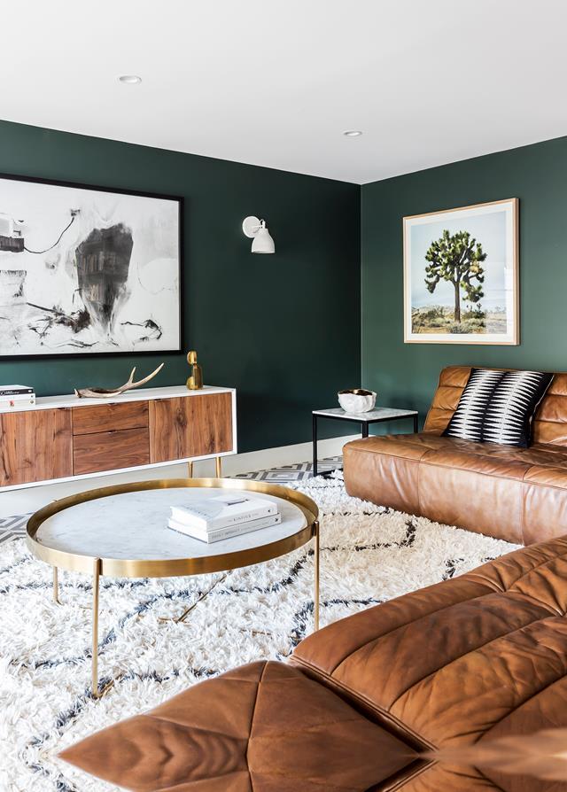 trendy color green interior decor (3)