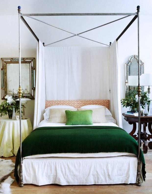 trendy color green interior decor (4)