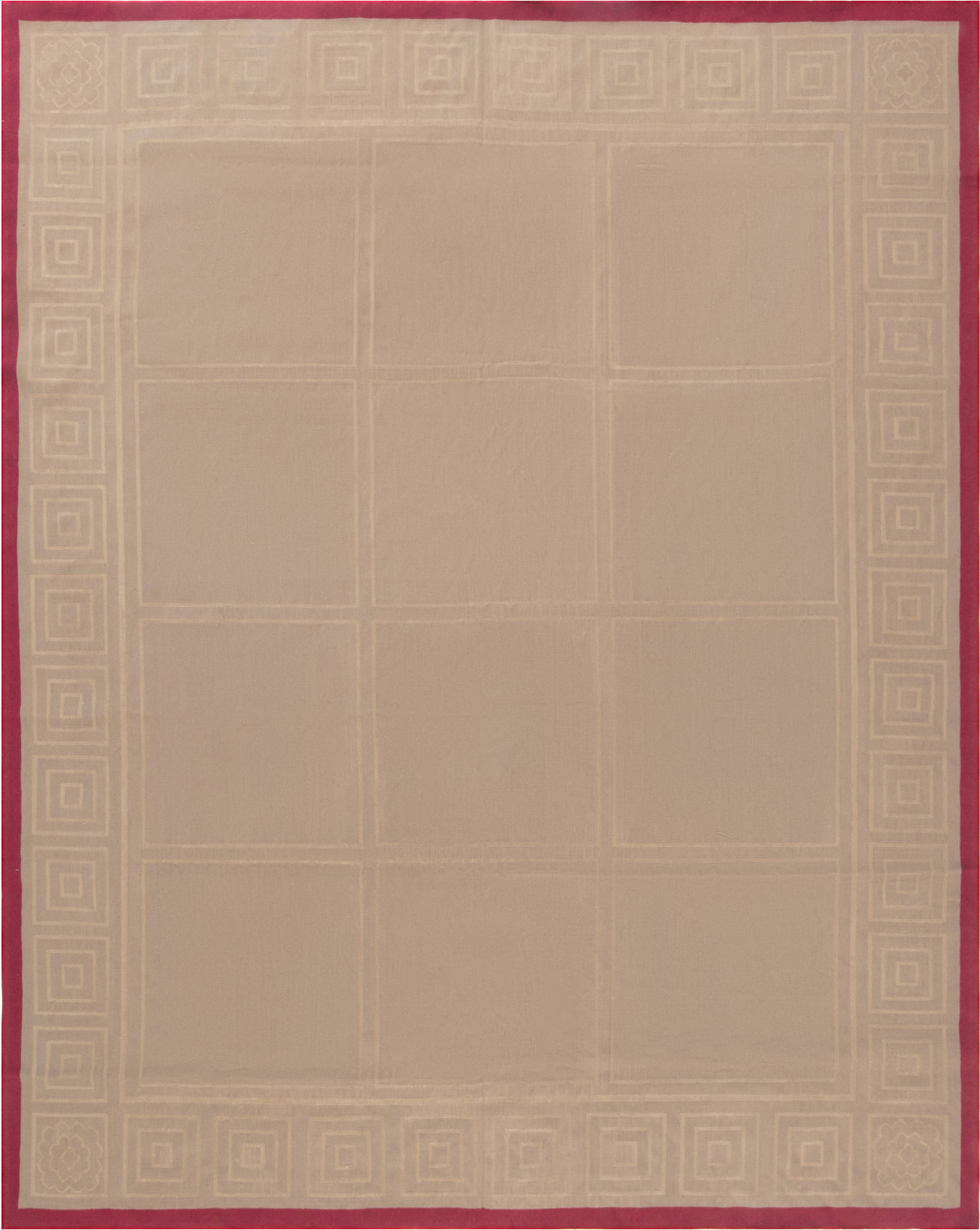 Aubusson Rug by Mariette Himes Gomez N11920