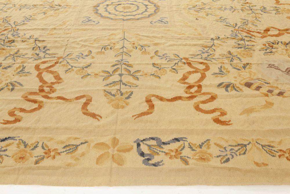 Bessarabian Design Handmade Wool Rug N11909