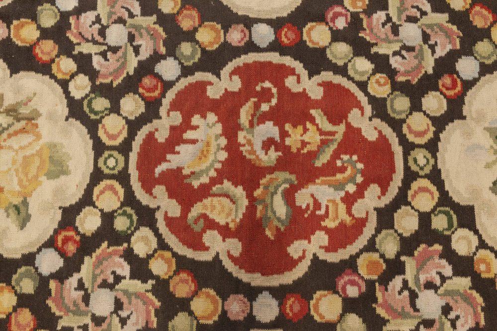 New Bessarabian Design Floral Wool Rug N11911