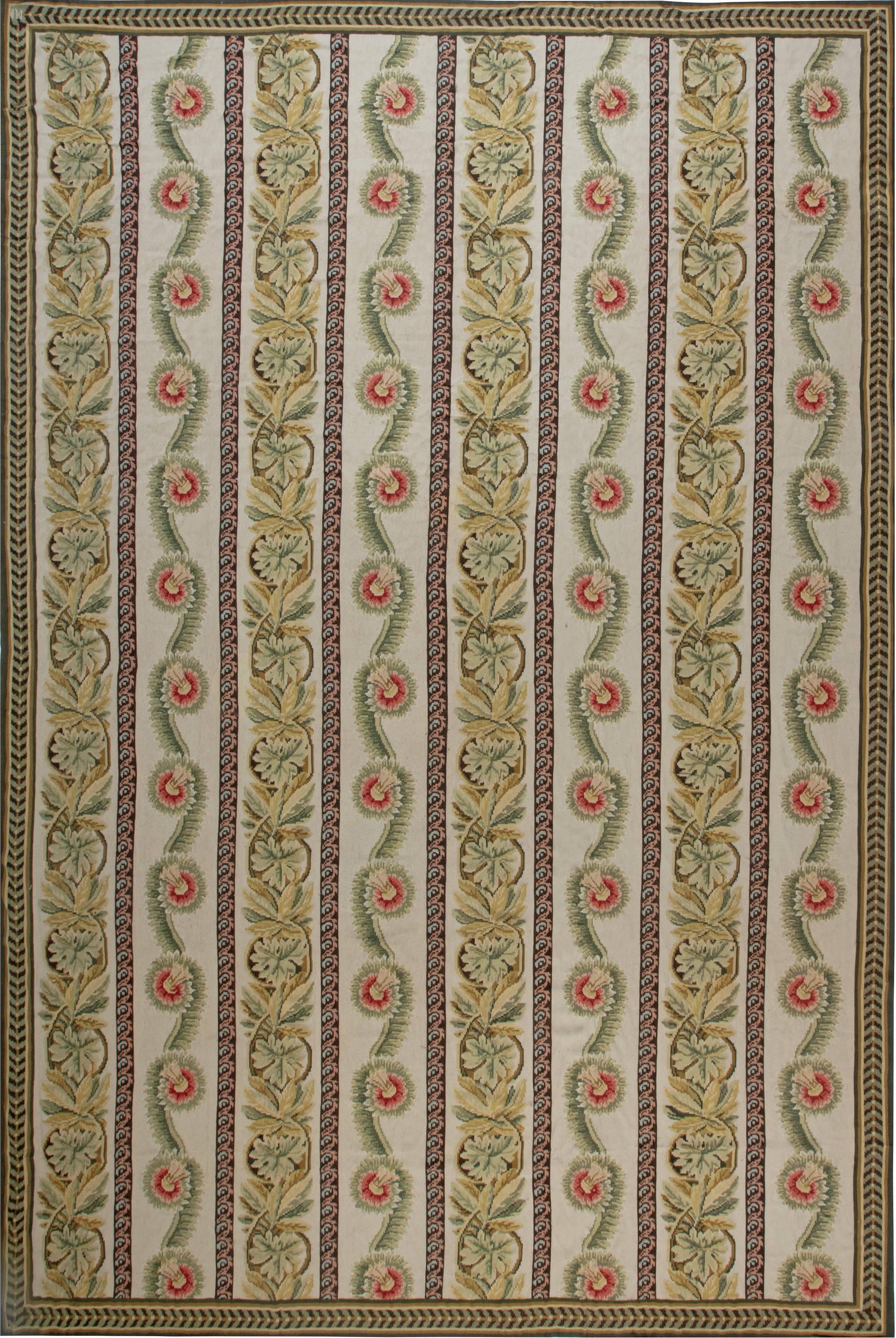 Bessarabian Flat Weave Rug N11893
