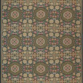 New Oversized Bessarabian Design Floral Wool Rug N11894