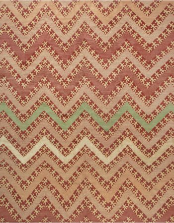Contemporary Geometric Tribal Rug N11914