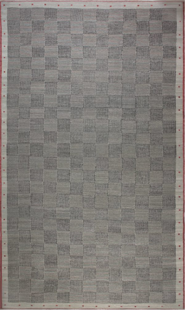 Oversized Swedish Design Rug N11878