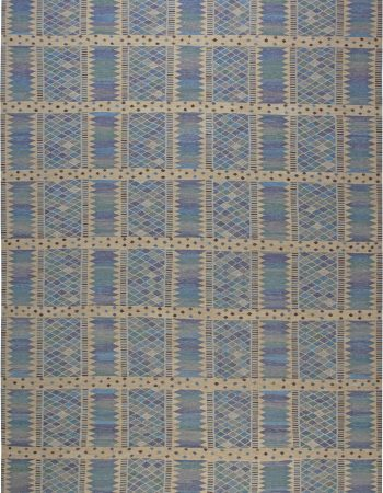 Oversized Swedish Design Rug N11880