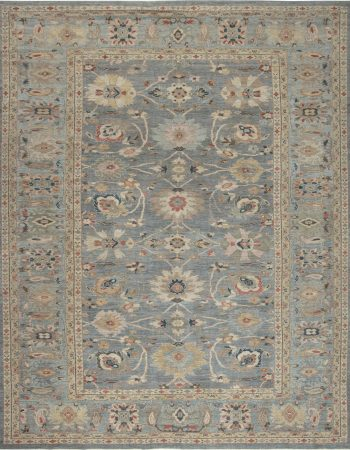 Traditional Sultanabad Design Rug N11873