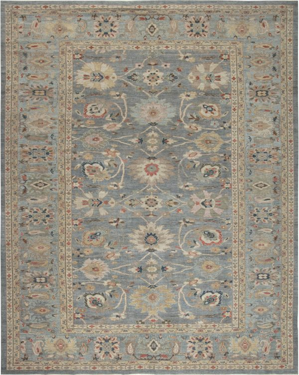 Traditional Sultabad Design Rug N11873