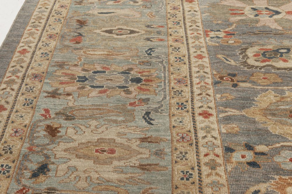 Sultanabad Style Wool Rug N11873