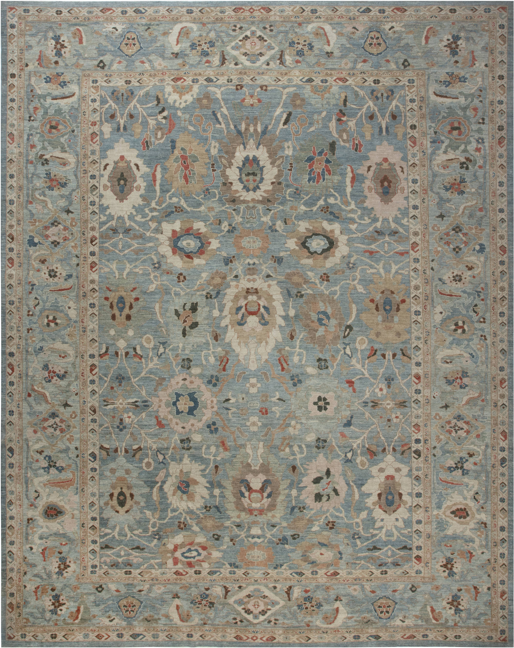 Traditional Sultabad Design Rug N11877
