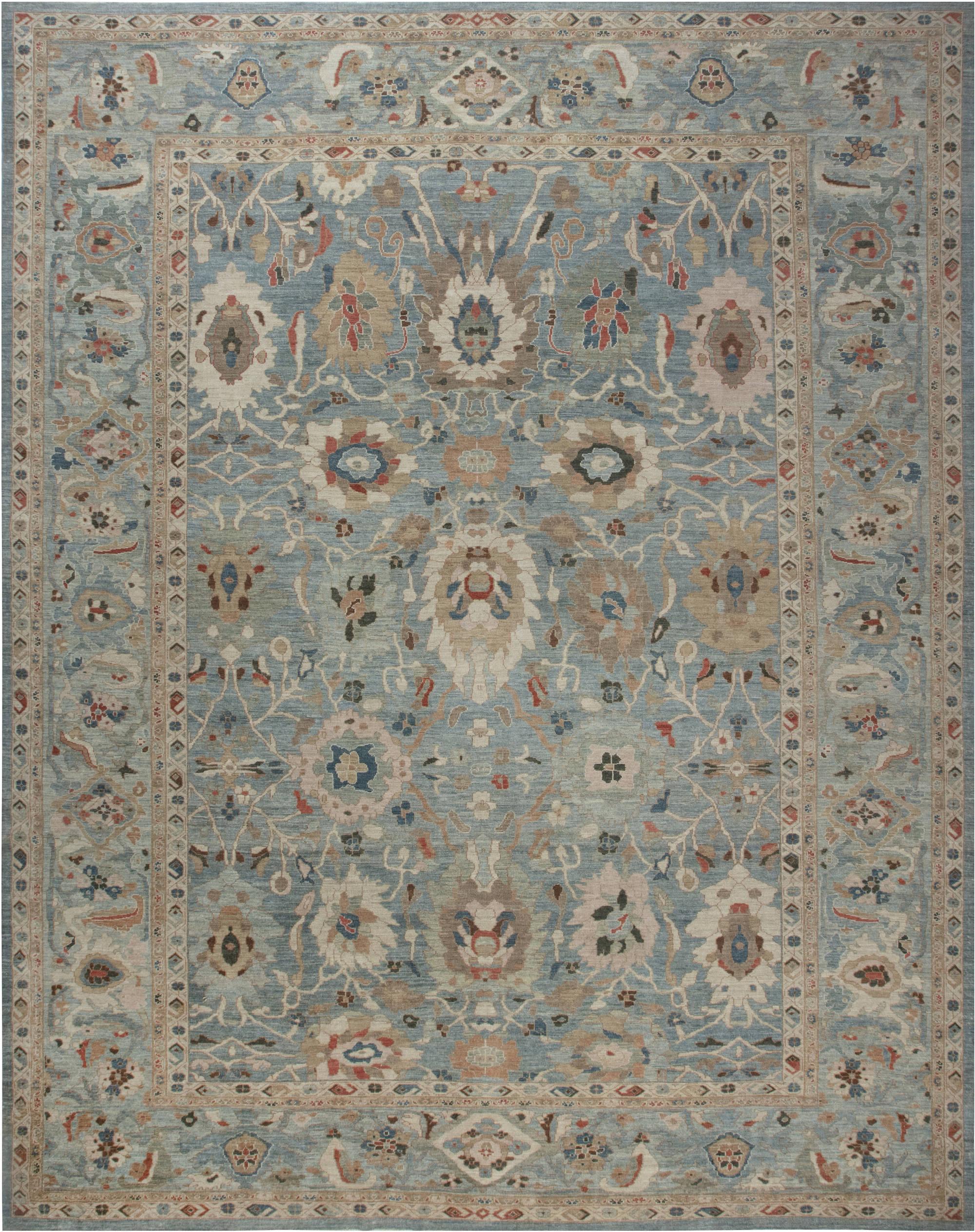 Traditional Sultabad Design Rug N11877