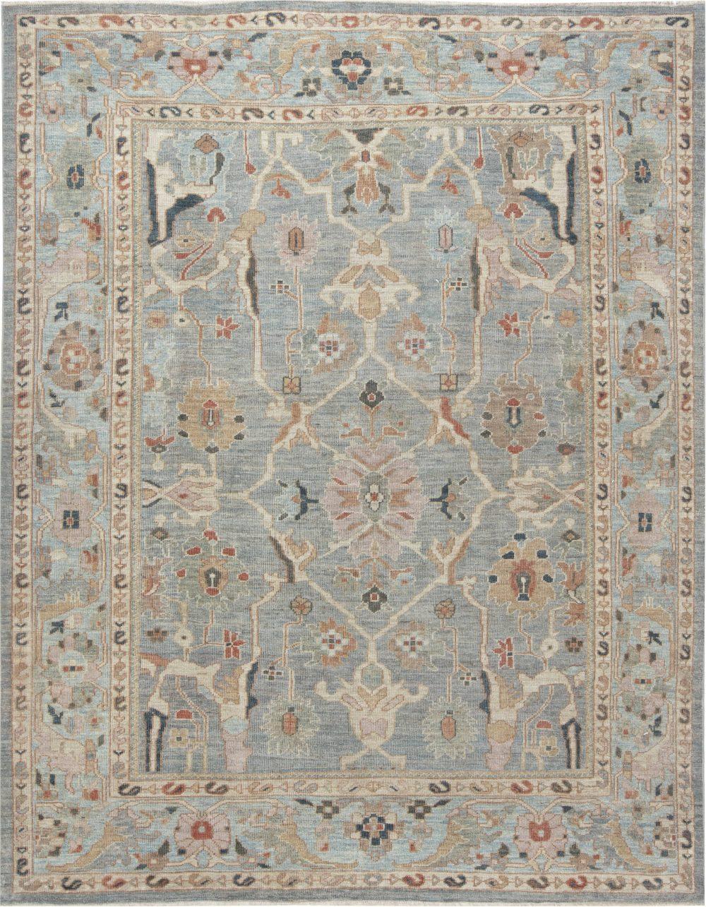 Traditional Sultabad Design Rug N11867