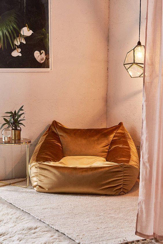 velvet chair, 2019 interior decor trends