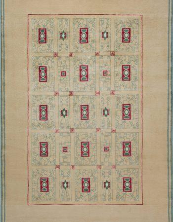 PAULE LELEU復古地毯BB6914