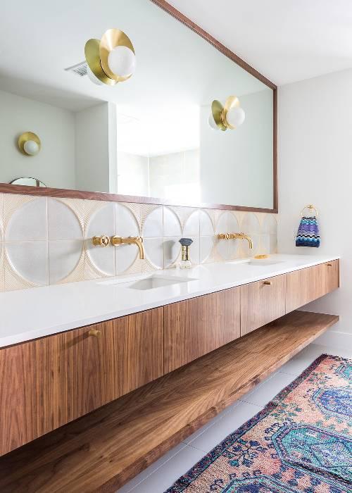 modern bathroom interior decor