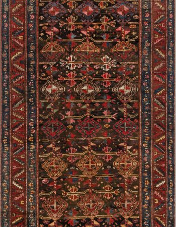 Antique Persian Malayer Rug BB6929