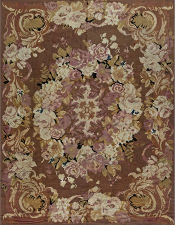 Antique Rug – French Aubusson BB6934